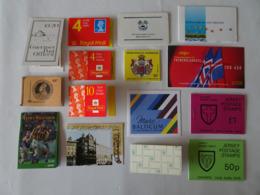 35 Carnets ** 1980/2000 De 19 Pays, Tous Différents - Timbres