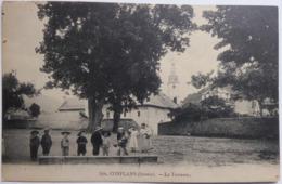 CONFLANS (Savoie). - La Terrasse - CPA 1908 - Frankreich