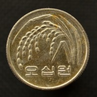 Korea, South 50 Won F.A.O Coin KM#34 21.6mm - Korea, South