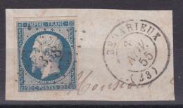 CP 116 / NAPOLEON N° 14 OBL - 1853-1860 Napoleon III