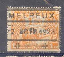 K513 -België  Spoorweg Chemin De Fer Met Stempel MELREUX Noodstempel - Bahnwesen