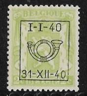 België  Typo Nr. 437 - Precancels