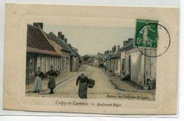 02 CREPY En LAONNOIS Carte RARE Boulevard Roger Edition Des Comptoirs Francais  - Couleur 1912 Timbrée    D14 2019 - Other Municipalities