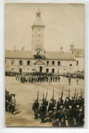41 ROMORANTIN Rare CARTE PHOTO Cérémonie 18 Mai 1916 Remise De Décorations Présentation Drapeau  Vétérans  D14 2019 - Romorantin