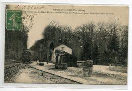 61 NEUILLY Le BISSON Train En Gare Ligne Désservant Le Menil Brout Rendez Vous Des Promeneurs écrite 1916 D14 2019 - France