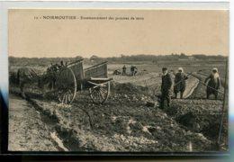 85 NOIRMOUTIER Edit Gausson 12- Ensemencement Des Pommes De Terre Paysanns Travail Au Champ Attelage Anes     D14 2019 - Noirmoutier