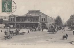 Transports - Chemins De Fer - Gare De Vincennes - 1907 - LL N° 459 - Stazioni Senza Treni