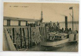 JERSEY  Port Bateau Le CYGNE à Quai Embarquement Des Voyageurs     D14 2019 - Jersey
