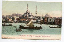 TURQUIE CONSTANTINOPLE La Mosquée YENI DJAMI No 2641 Max Fructermann  1900  Dos Non Divisé       D14 2019 - Turquia