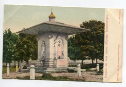 TURQUIE CONSTANTINOPLE Fontaine Des Eaux Douces  No 1659  Max Fructermann  1900  Dos Non Divisé       D14 2019 - Turquia