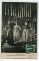 61 LA LANDE PATRY Femmes Filature Des Andouilles Du Prieuré Environs Flers 1908   Timb   D14 2019 - France
