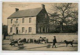 61 LA FERTE BOCHARD Ecole De Garcons Et Mairie Petit Garcon Menant Ses Moutons Route    D14 2019 - France