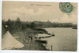 70 GRAY Camp Militaires La Baignade écrite Timbrée En 1907    D14 2019 - Gray