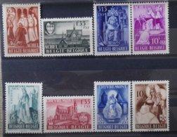 BELGIE  1948     Nr.  773 - 776 / 777 - 780       Postfris **   CW  35,00 - Neufs