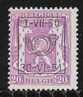België  Typo Nr. 606 - Precancels