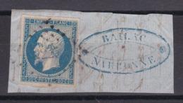 CP 117 / NAPOLEON N° 14 OBL - 1853-1860 Napoleon III