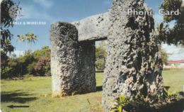Tonga - Ha'amonga (The Ancient Royal Archway) - Old Logo - 323CTDG - Tonga