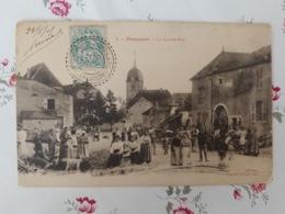 Polaincourt  La Grande Rue Cachet Facteurs Boîtiers Haute Saône Franche Comté - France