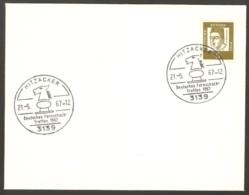 Germany 1967 Hitzacker - Chess Cancel On Envelope, Last Day - Schach