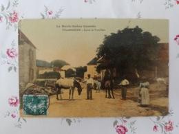 Polaincourt La Fontaine Et La Vieille Croix Carte Couleur  Haute Saône Franche Comté - France