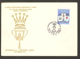 Yugoslavia 1972 Vrnjacka Banja - Chess Cancel On Commmemorative Envelope - Schach