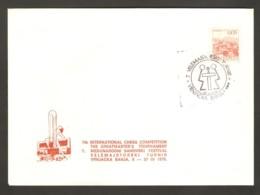 Yugoslavia 1976 Vrnjacka Banja - Chess Cancel On Commemorative Envelope - Schach