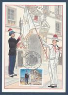 Monaco Carte Maximum Premier Jour FDC - YT N°2107 Carabiniers Tenues D'hiver Et D'été - 1997 - Maximum Cards