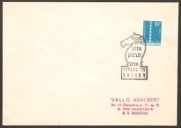 Romania 1978 Brasov - Chess Cancel On Envelope - Scacchi