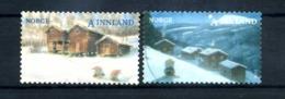 2008 NORVEGIA N.1615/1616 SET USATO - Norvegia