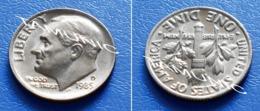 UNITED STATES USA 10 Cents (ONE DIME) 1985 D - ROOSEVELT - Bondsuitgaven