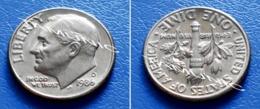 UNITED STATES USA 10 Cents (ONE DIME) 1986 D - ROOSEVELT - Bondsuitgaven
