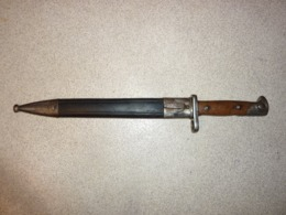 Baionnette Mauser 71/84 Bavaroise, Bayonet Mauser 1871/84 Bavière Bayern Bavarian - Blankwaffen