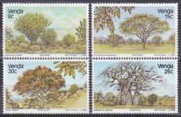 Venda Südafrika RSA 1982 Pflanzen Plants Flora Baum Bäume Trees Wald Forest Savanne Euphorbia, Mi. 62-5 ** - Venda