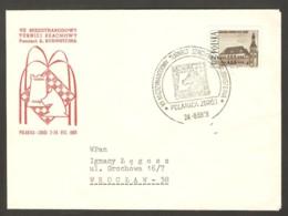 Poland 1969 Polanica Zdroj - Chess Cancel On Commemorative Envelope, Traveled, Last Day - Scacchi