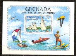 Grenade Grenada 1977 Yvertn° Bloc 61 *** MNH Cote 30 FF Bateaux Ships - Grenade (1974-...)