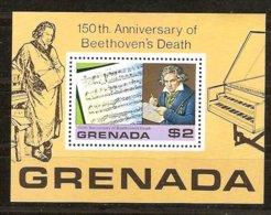 Grenade Grenada 1978 Yvertn° Bloc 70 *** MNH Cote 25 FF Beethoven - Grenade (1974-...)