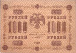 AK-div.29- 158  -  1000   Rubel  1918    AI - 614 - Rusland