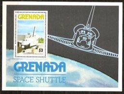 Grenade Grenada 1978 Yvertn° Bloc 67 *** MNH Cote 25 FF Space Shuttle - Grenade (1974-...)