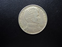 CHILI : 1 PESO   1976 *    KM 208      TTB - Chili