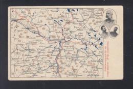 KuK PK Orientierungskarte Manöver 1905 In Süd-Böhmen - Böhmen Und Mähren