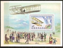 Grenade Grenada 1978 Yvertn° Bloc 72 *** MNH Cote 25 FF Avions Airplanes Vliegtuigen - Grenade (1974-...)