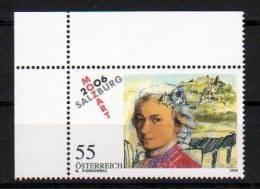 """Österreich 2006: """"Mozart In Salzburg"""" Postfrisch (siehe Scan/Foto) - 2001-10 Neufs"""
