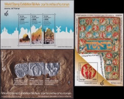 ISRAEL 1985 Mi-Nr. Block 28/30 ** MNH - Blokken & Velletjes