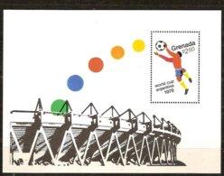 Grenade Grenada 1978 Yvertn° Bloc 75 *** MNH Cote 20 FF Sport Football Soccer Argentinie - Grenade (1974-...)