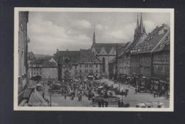 Dt. Reich AK Eger Adolf Hitler Platz - Sudeten