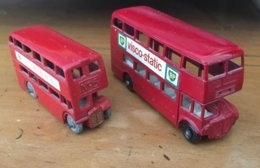 Lot Deux Matchbox Lesney LONDON BUS - Lesney