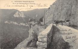 """CPA FRANCE 25 """"Route De Charmauvillers à Goumois"""" - Otros Municipios"""