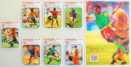 # Nicaragua 1994**Mi.3228-35  Well-known Soccer Players , MNH [25;34] - 1994 – USA