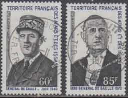 Afars Et Issas (Territoire Des) - N° 375 & 376 (YT) Oblitérés. Belles Oblitérations De Djibouti. - Afars & Issas (1967-1977)