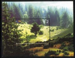 Kosovo 2011 Europa CEPT, Forest, Tree, Nature, Block, Souvenir Sheet MNH - 2011